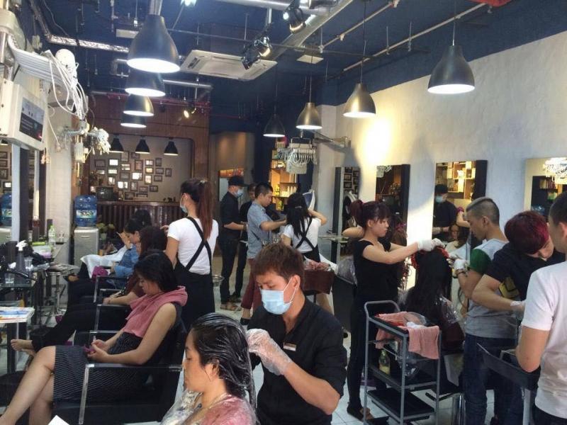 Không gian salon