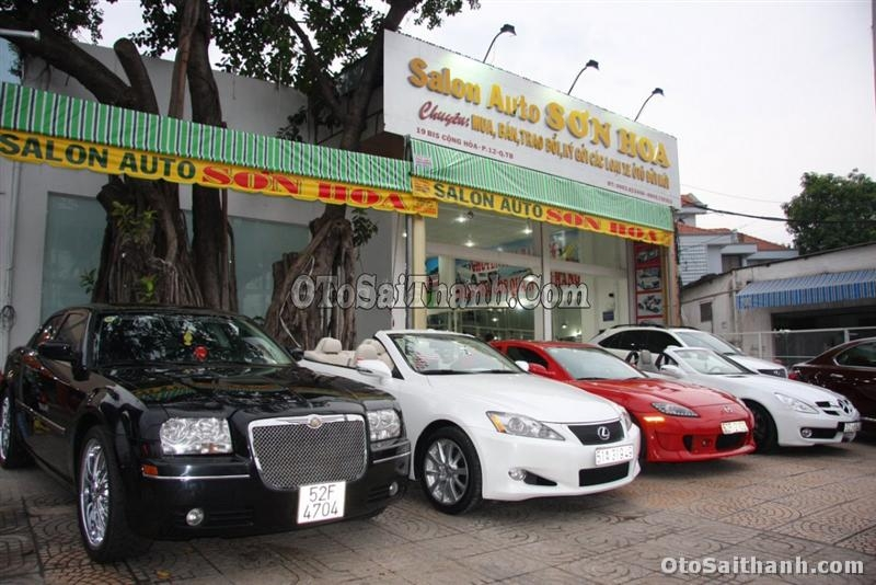 Salon Auto Sơn Hoa mang đến vô vàn dòng xe đa dạng về cả chủng loại lẫn mẫu mã