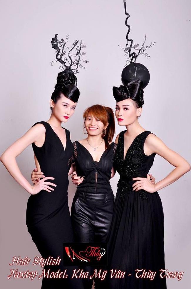 Trần Thị Thủy - người có rất nhiều kinh nghiệm trong lĩnh vực làm đẹp