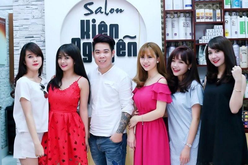 Dịch vụ làm tóc tại Salon Kiên Nguyễn