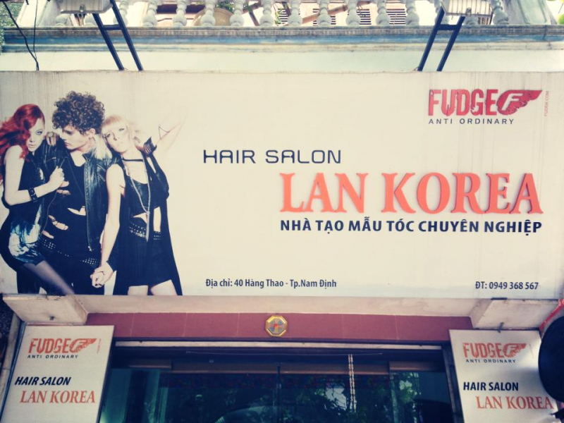 Salon tóc Lan Korea