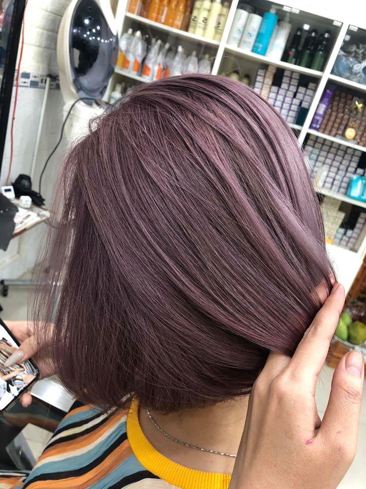 Màu tóc đẹp tại Salon Lan Vĩnh Hoàng
