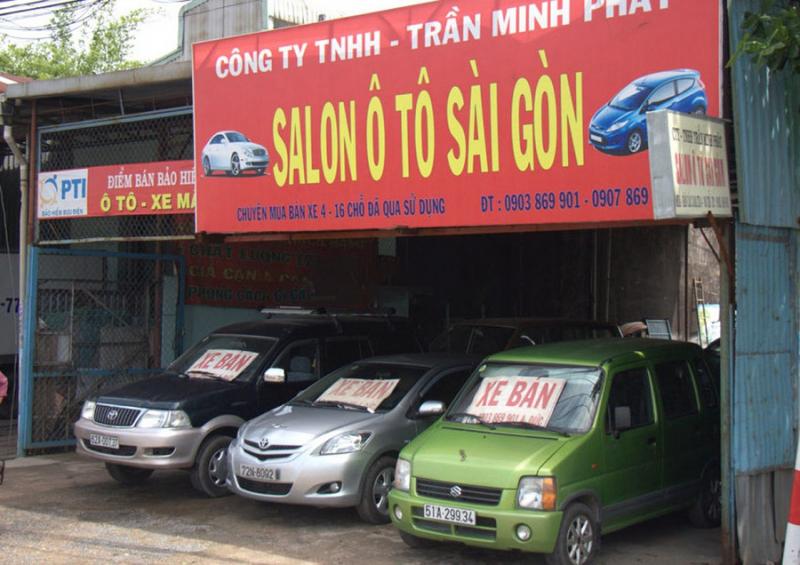 Salon ô tô Sài Gòn chuyên mua bán các loại xe đã qua sử dụng nhưng chất lượng lại như mới