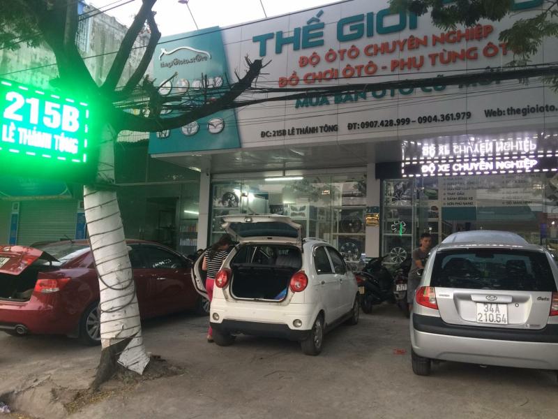 Salon thế giới ô tô