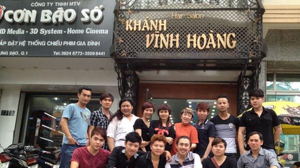Đội ngũ nhân viên Salon Khánh Vĩnh Hoàng