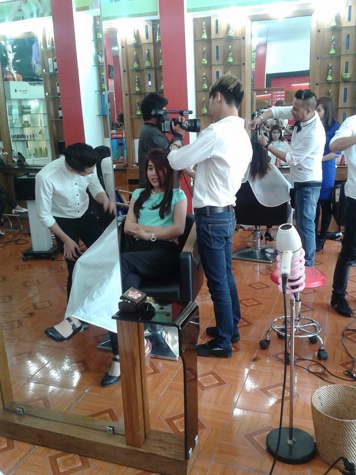 Dịch vụ làm tóc tại Salon tóc Quý Mão