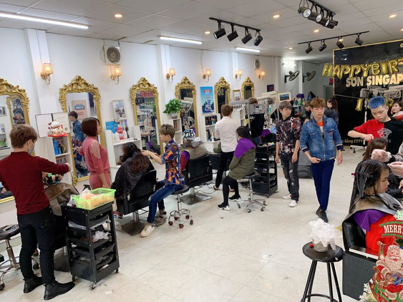 Salon Tóc Sơn Singapore