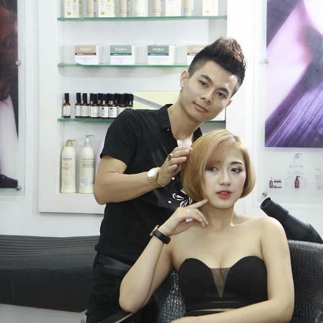 Dịch vụ làm tóc tại Salon Xuân Huy Tóc Trẻ