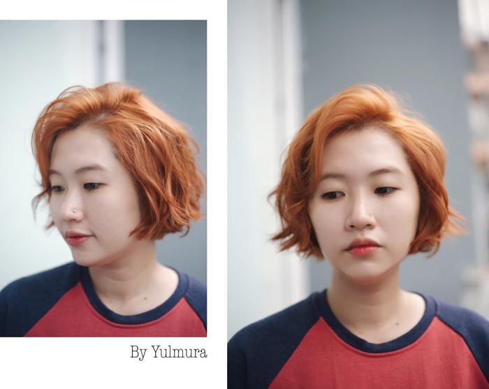Kiểu tóc được tạo tại salon