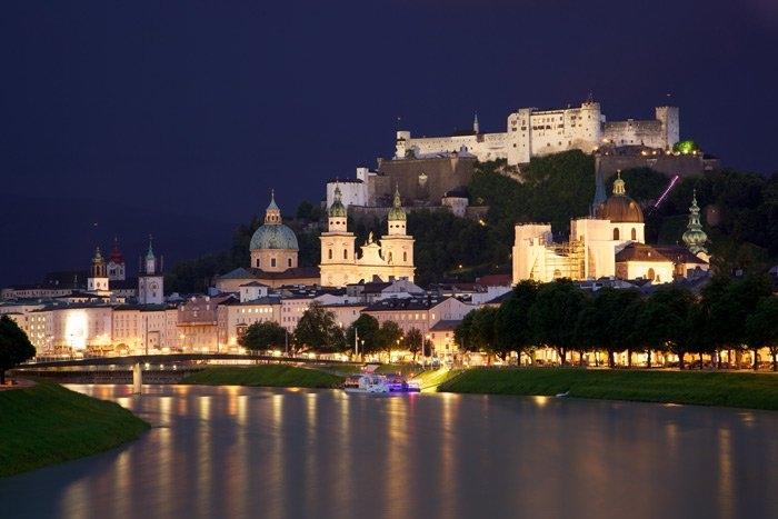 Ai thích không gian tĩnh mịch có thể ngắm nhìn Salzburg từ một góc xa xa.