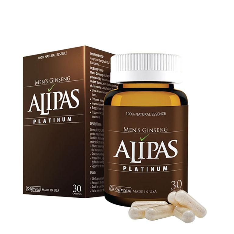 Sản phẩm tăng cường sinh lý nam – Sâm Alipas