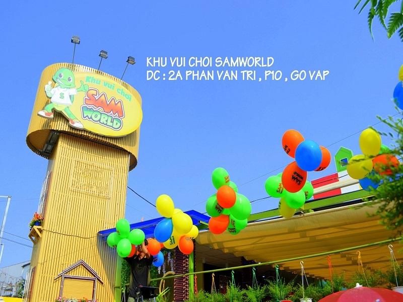 Sam World là một trong những khu vui chơi giải trí trong nhà nổi tiếng tại TP. Hồ Chí Minh