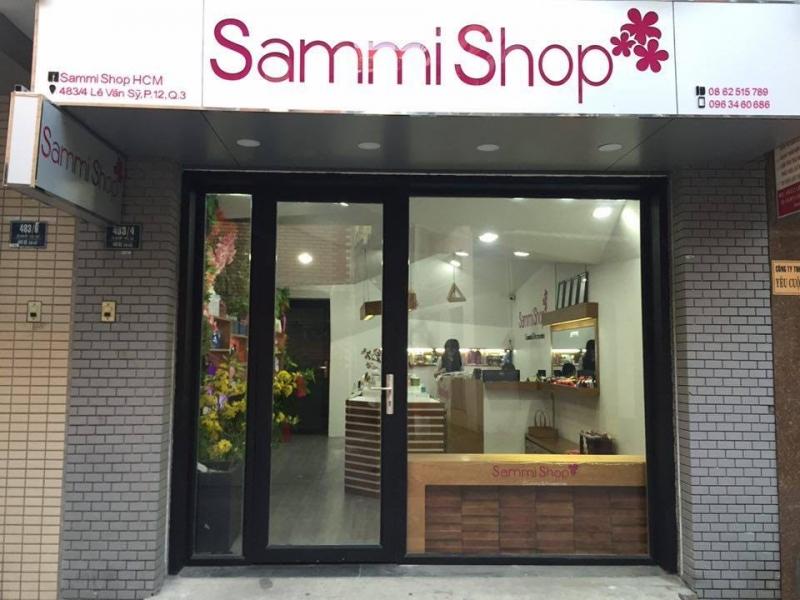 Một chi nhánh SammiShop tại Sài Gòn