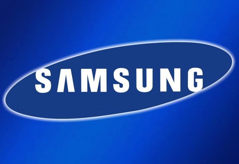 Logo thương hiệu máy giặt Samsung