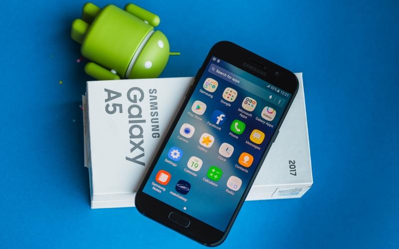 Samsung Galaxy A5 phiên bản 2017 nhanh chóng trở thành một cái tên