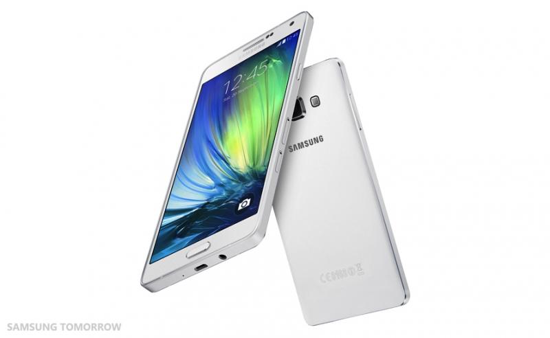 Galaxy A7 đánh vào phân khúc dưới các dòng flagship