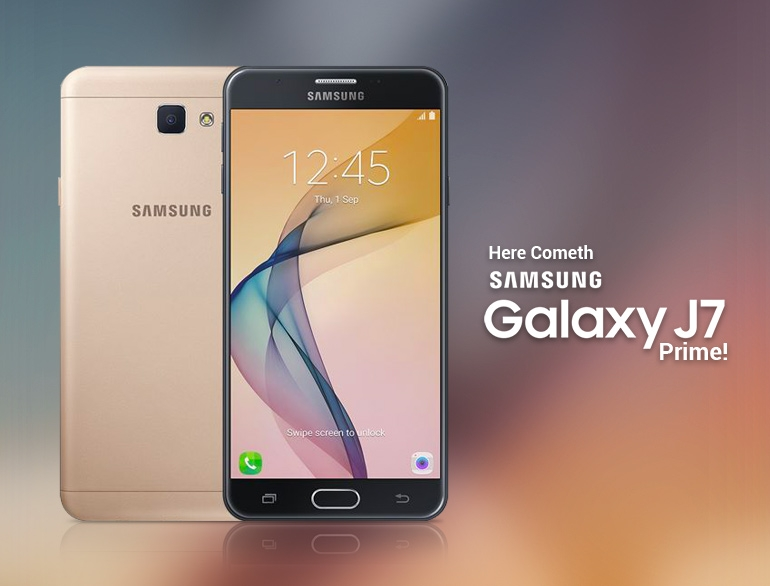 Samsung Galaxy J7 Prime tặng quà khủng: sạc dự phòng, ốp lưng