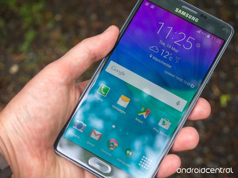 Galaxy Note 4 có màn hình độ phân giải lên đến 2560 x 1440 pixel