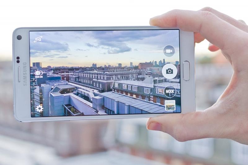 Camera trên Note 4 cho khả năng chụp ảnh tuyệt vời!