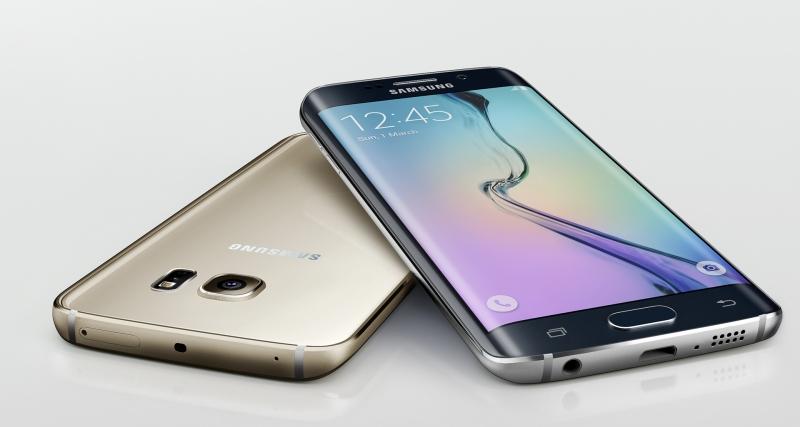 Samsung Galaxy S6 Edge mang đến khái niệm hoàn toàn mới: màn hình cong viền