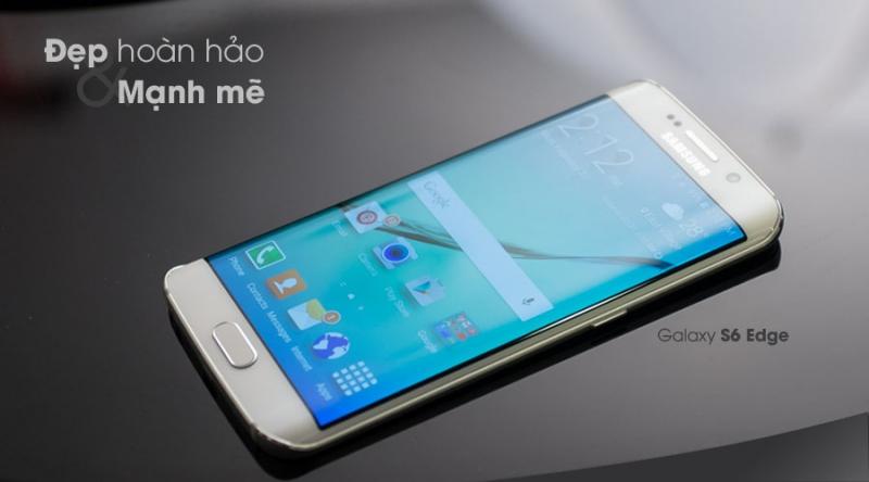 Vẻ đẹp tuyệt hảo của Galaxy S6 Edge
