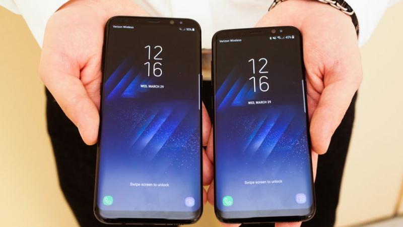 S8 có màn hình rộng 1440 X 2960 và 5 inch sắc nét