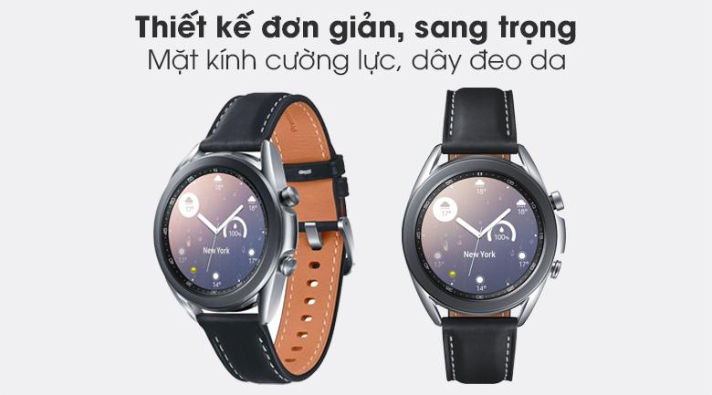 Samsung Galaxy Watch 3 41mm viền thép bạc