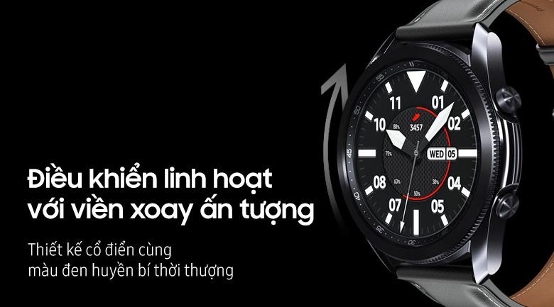 Samsung Galaxy Watch 3 45mm viền thép