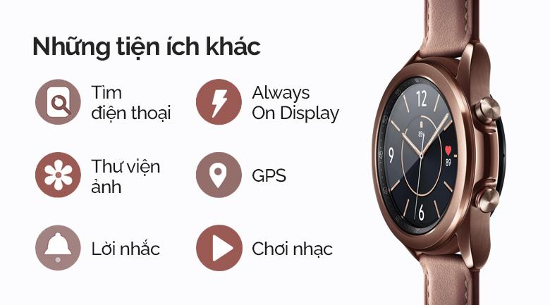 Samsung Galaxy Watch 3 LTE 45mm viền thép