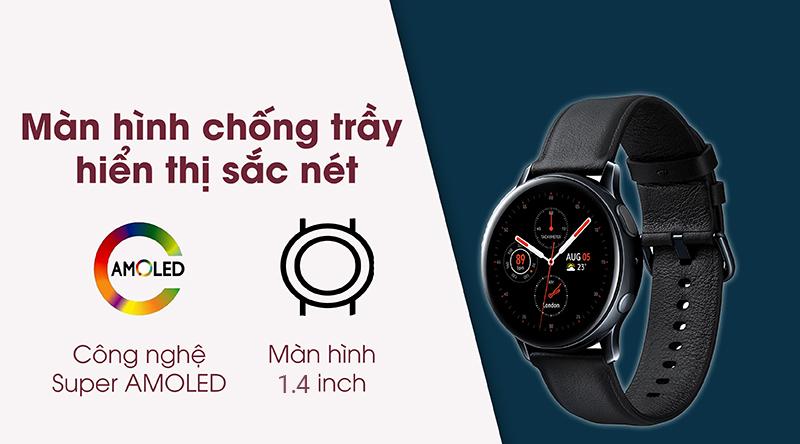 Samsung Galaxy Watch Active 2 44mm viền thép