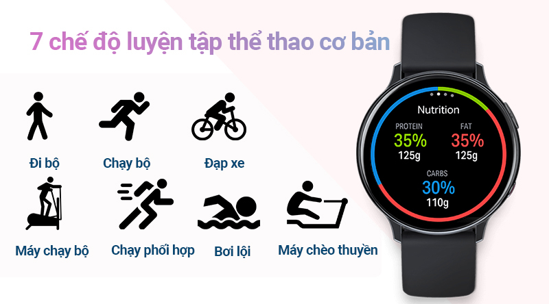 Samsung Galaxy Watch Active 2 44mm Vỏ Nhôm