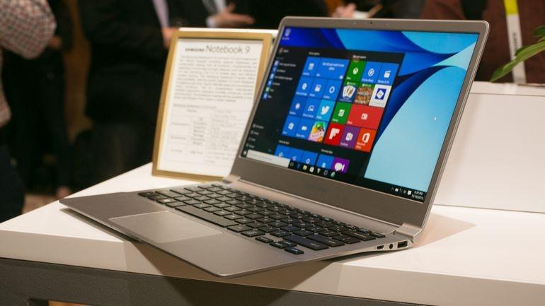 Samsung ghi điểm nhờ thiết kế cao cấp của Notebook 9