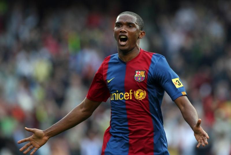 Samuel Eto'o đã có quãng thời gian vô cùng thành công tại Barcelona.