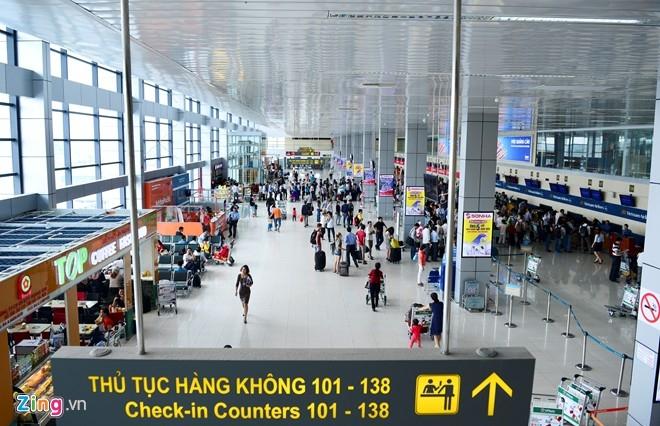 Nhà ga sân bay Nội Bài