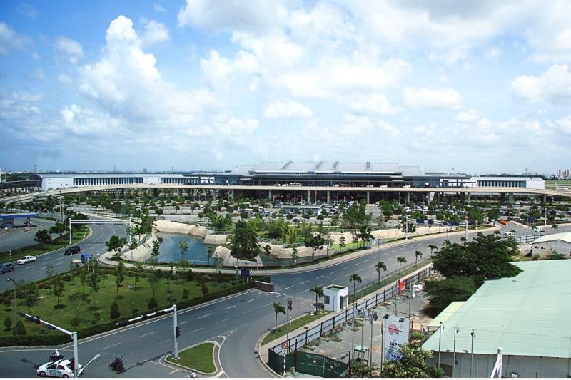Sân bay quốc tế Tân Sơn Nhất - Nguồn: Sưu tầm