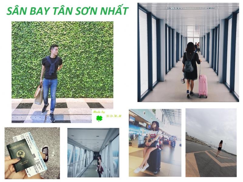 Hình chụp ở Sân bay Tân Sơn Nhất - Nguồn: Sưu tầm