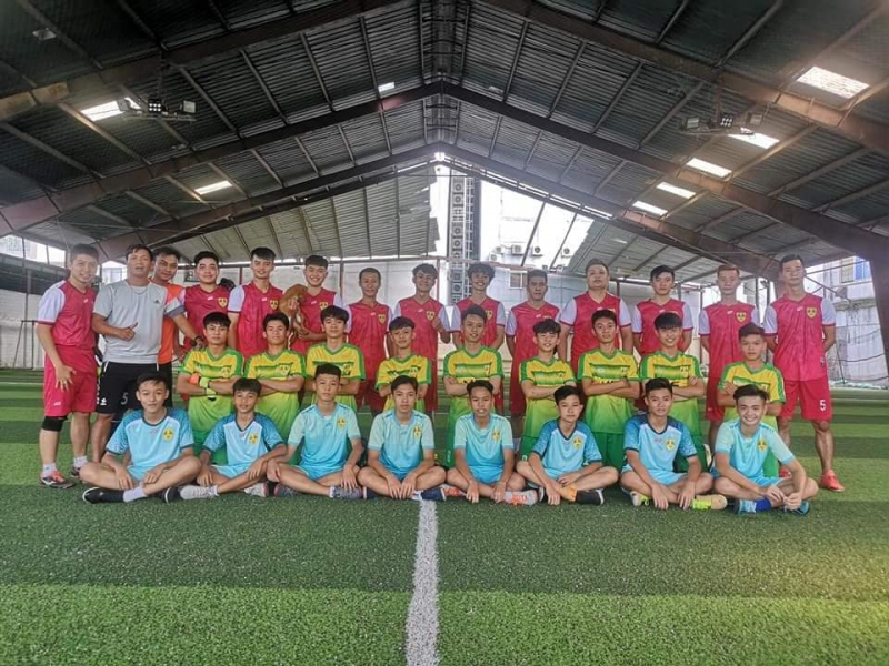 Sân bóng đá Cỏ Nhân Tạo K34