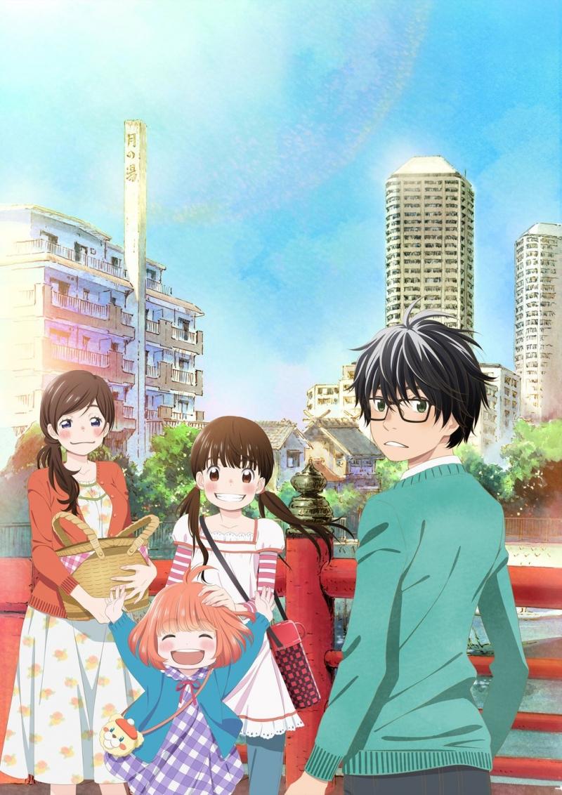 Các nhân vật trong bản anime của Sangatsu no Lion