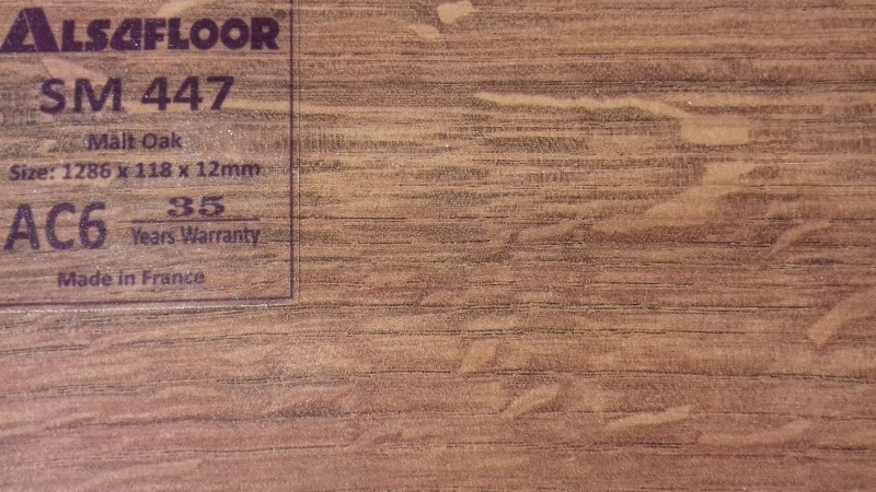 Hình ảnh sàn gỗ AlsaFloor
