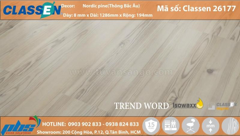 Hình ảnh sàn gỗ Classen