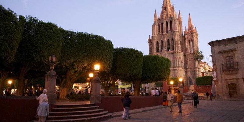 Thành phố này mang đậm chất truyền thống của Mexico.