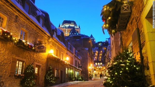 Một đêm giáng sinh tại thành phố.