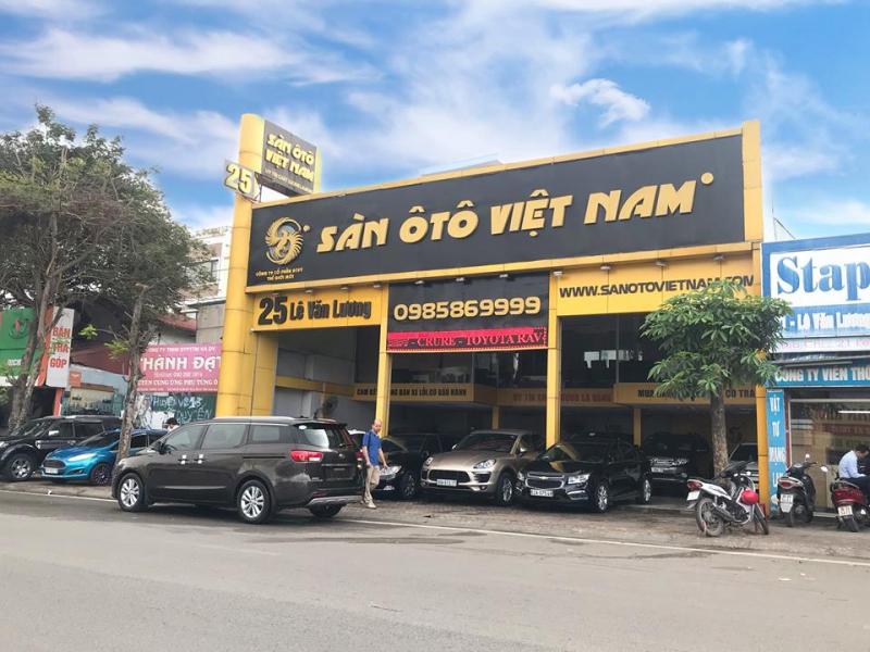 Sàn ô tô Việt Nam.