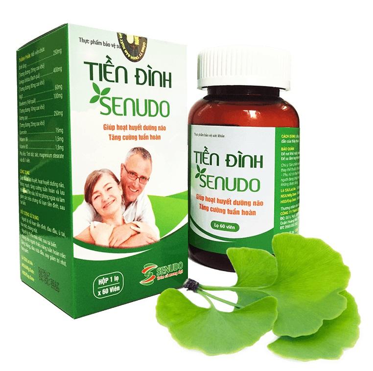 Sản phẩm bảo vệ sức khỏe Tiền Đình Senudo
