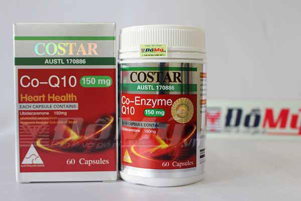 Sản phẩm bổ tim mạch CoQ10 Costar 150mg