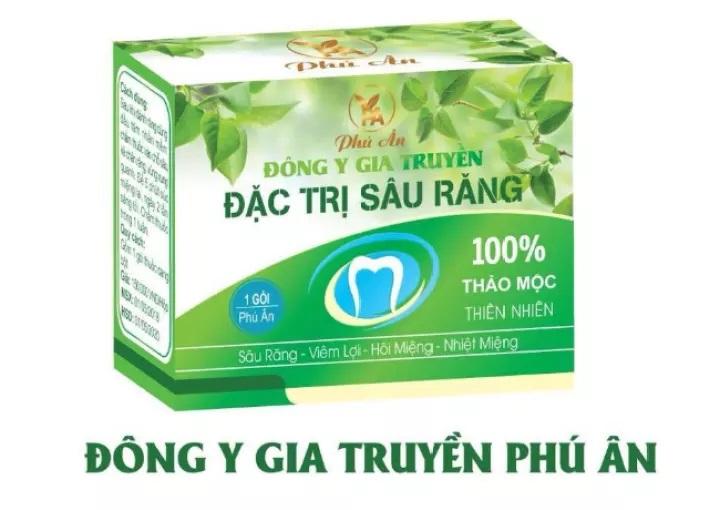 Sản phẩm trị sâu răng gia truyền Phú Ân