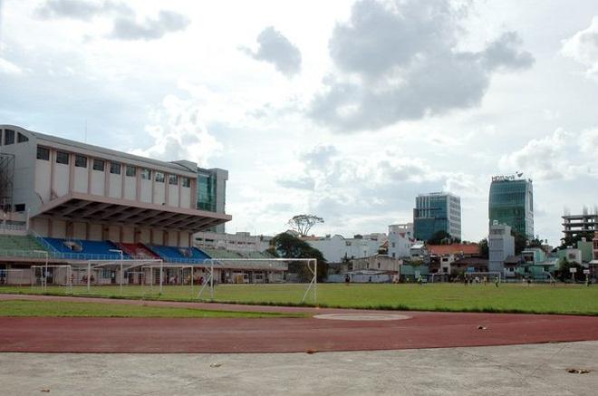Một góc sân vận động Hoa Lư - Nguồn: Sưu tầm