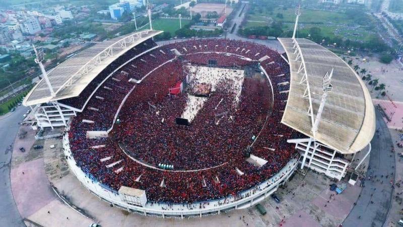 Sân vận động Mỹ Đình (nguồn internet)