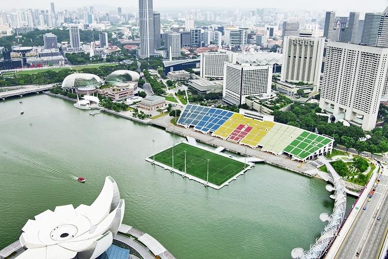 Sân vận động nổi vịnh Marina, Singapore