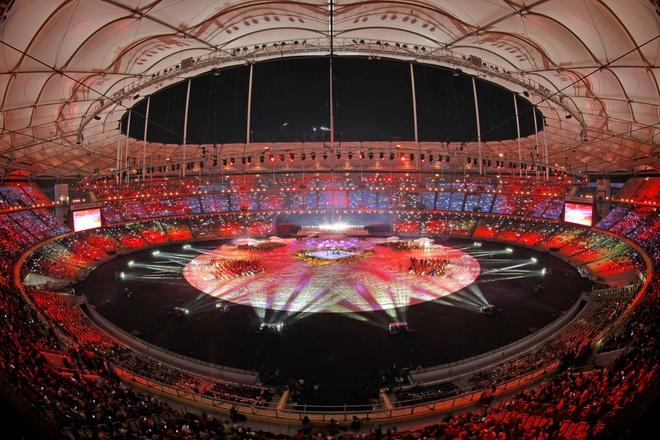 Sân vận động Quốc gia Bukit Jalil nơi diễn ra các sự kiện thể thao quan trọng